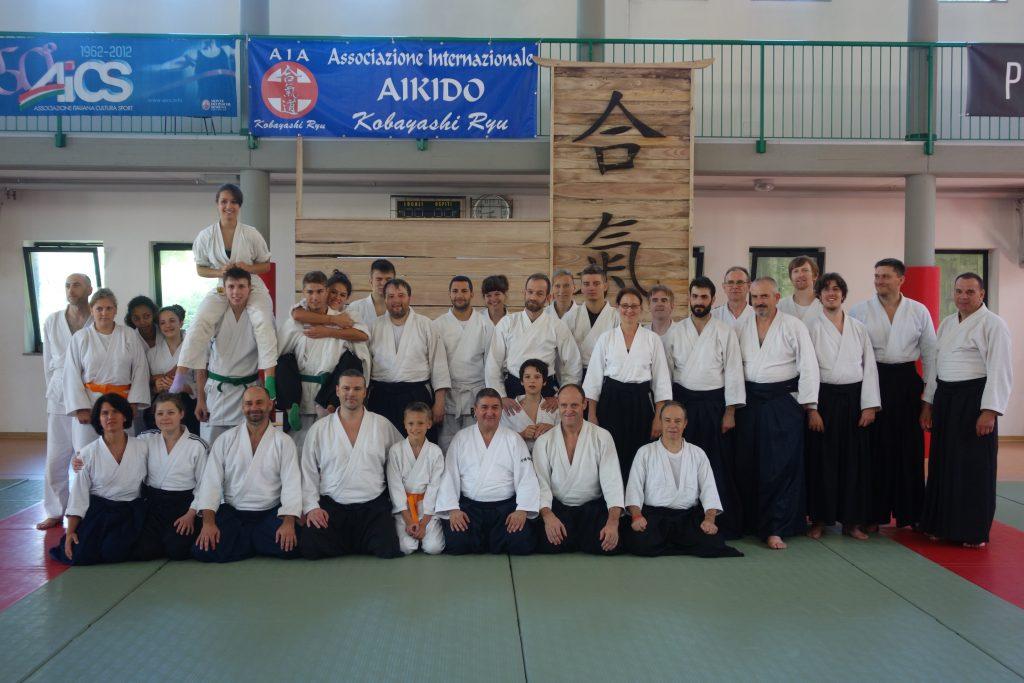 Aikido trening dorosłych Italia