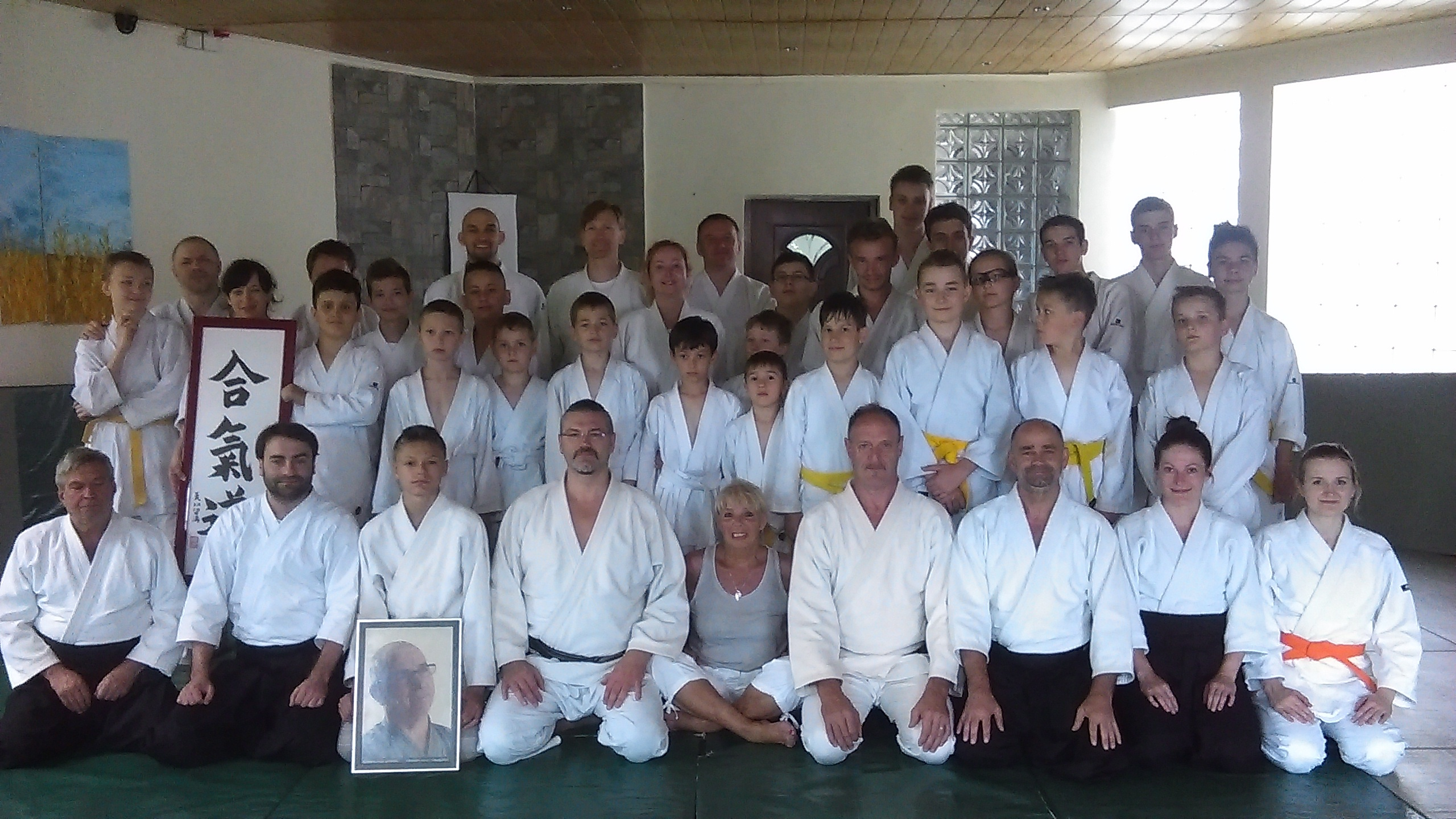 Obóz Akido Mazury Łajs Trening dla dorosłych