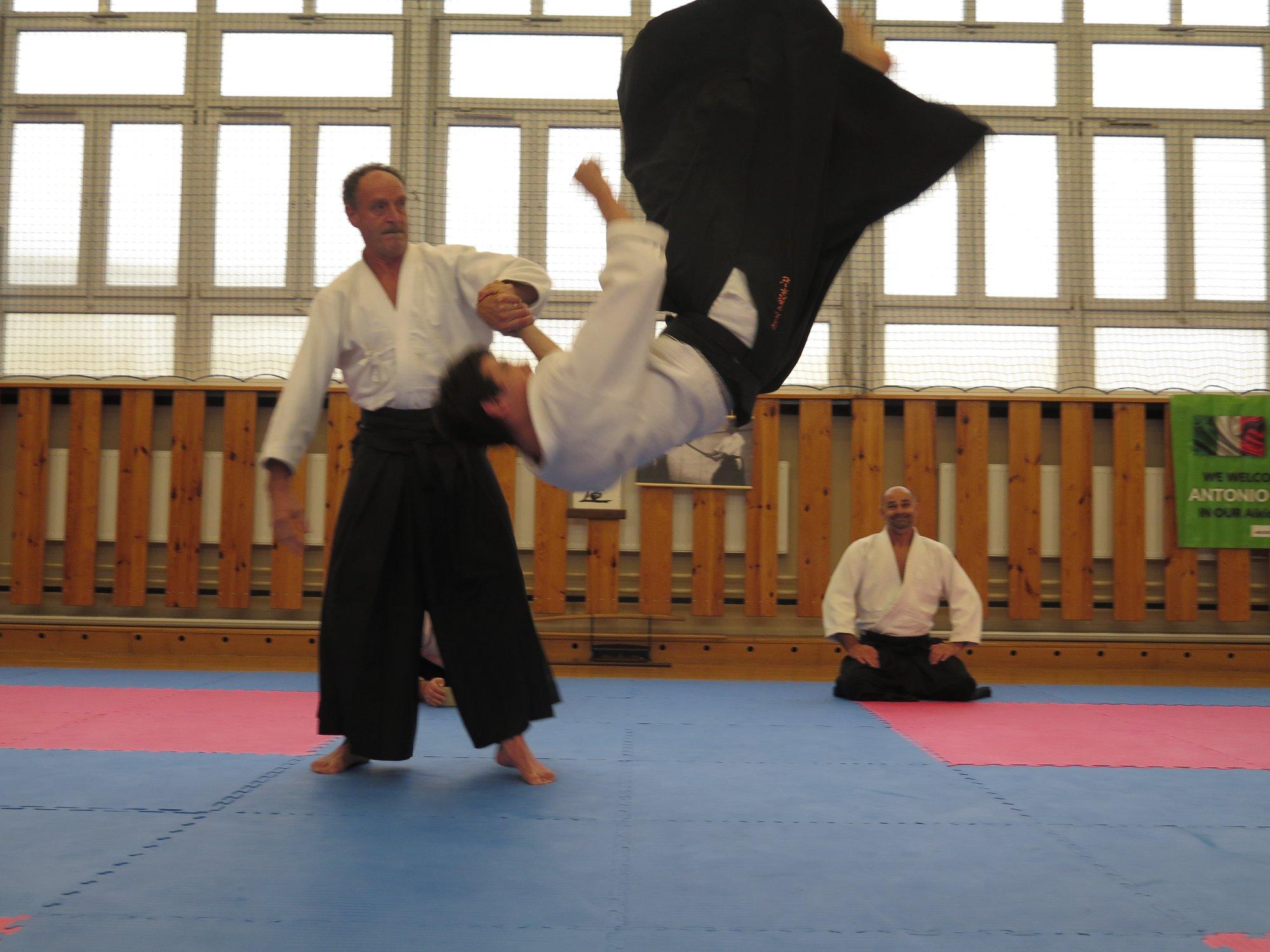Staż z Antonio Albanese Shihan Super Aikido Lublin Dojo Nałkowskich (12)