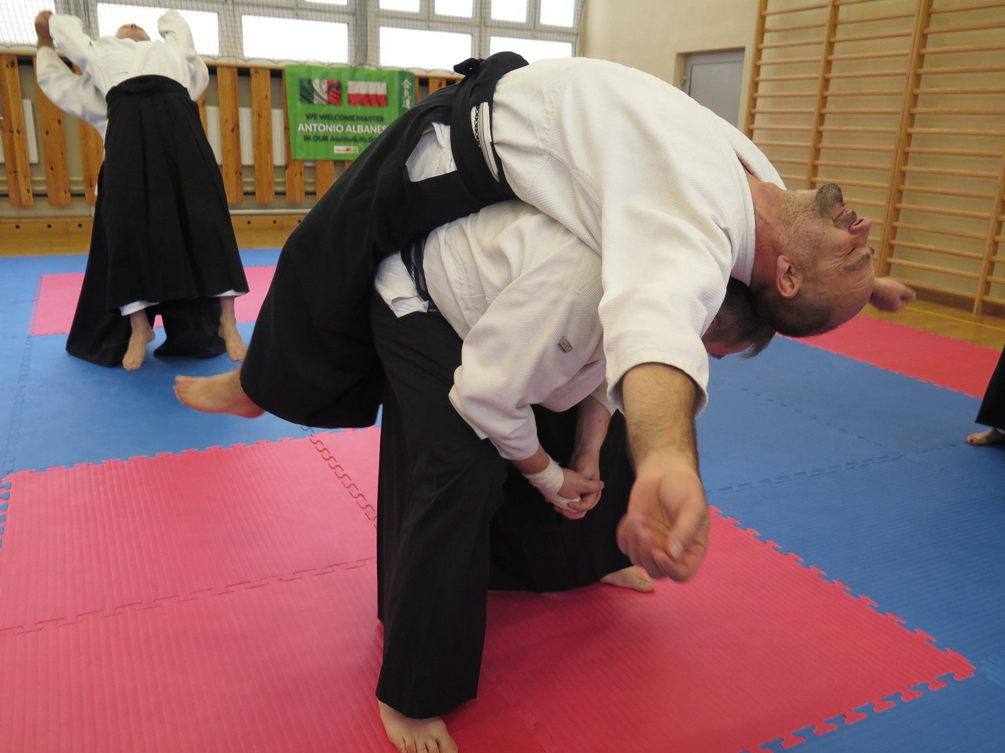 Staż z Antonio Albanese Shihan Super Aikido Lublin Dojo Nałkowskich (15)