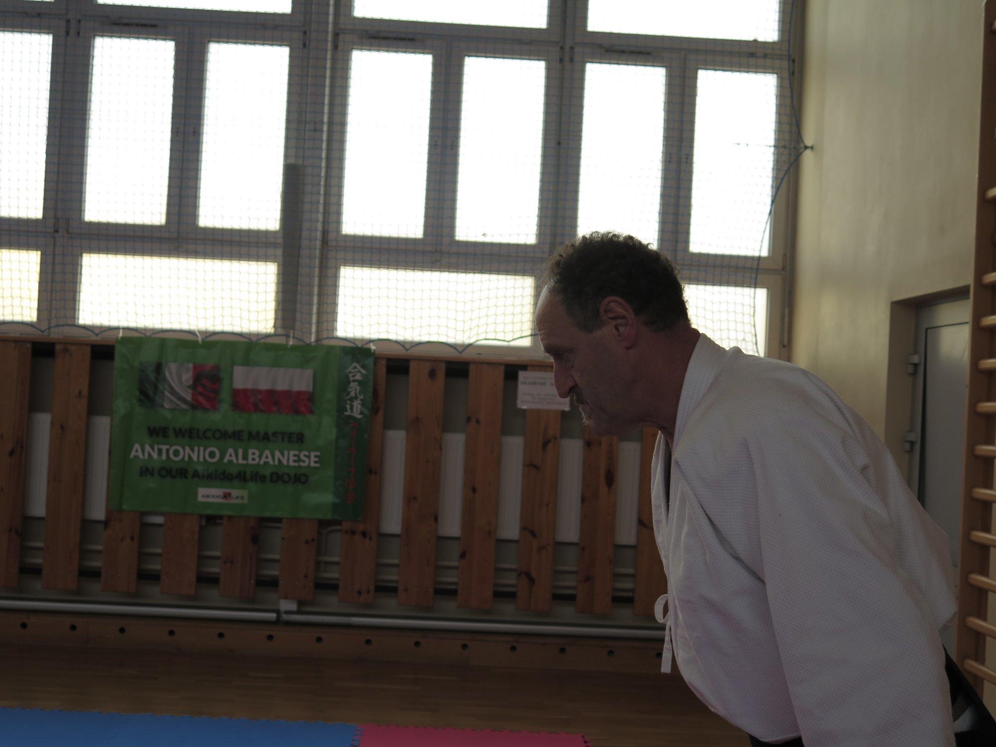 Staż z Antonio Albanese Shihan Super Aikido Lublin Dojo Nałkowskich (16)