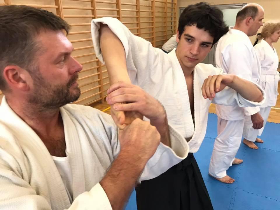 Staż z Antonio Albanese Shihan Super Aikido Lublin Dojo Nałkowskich (28)