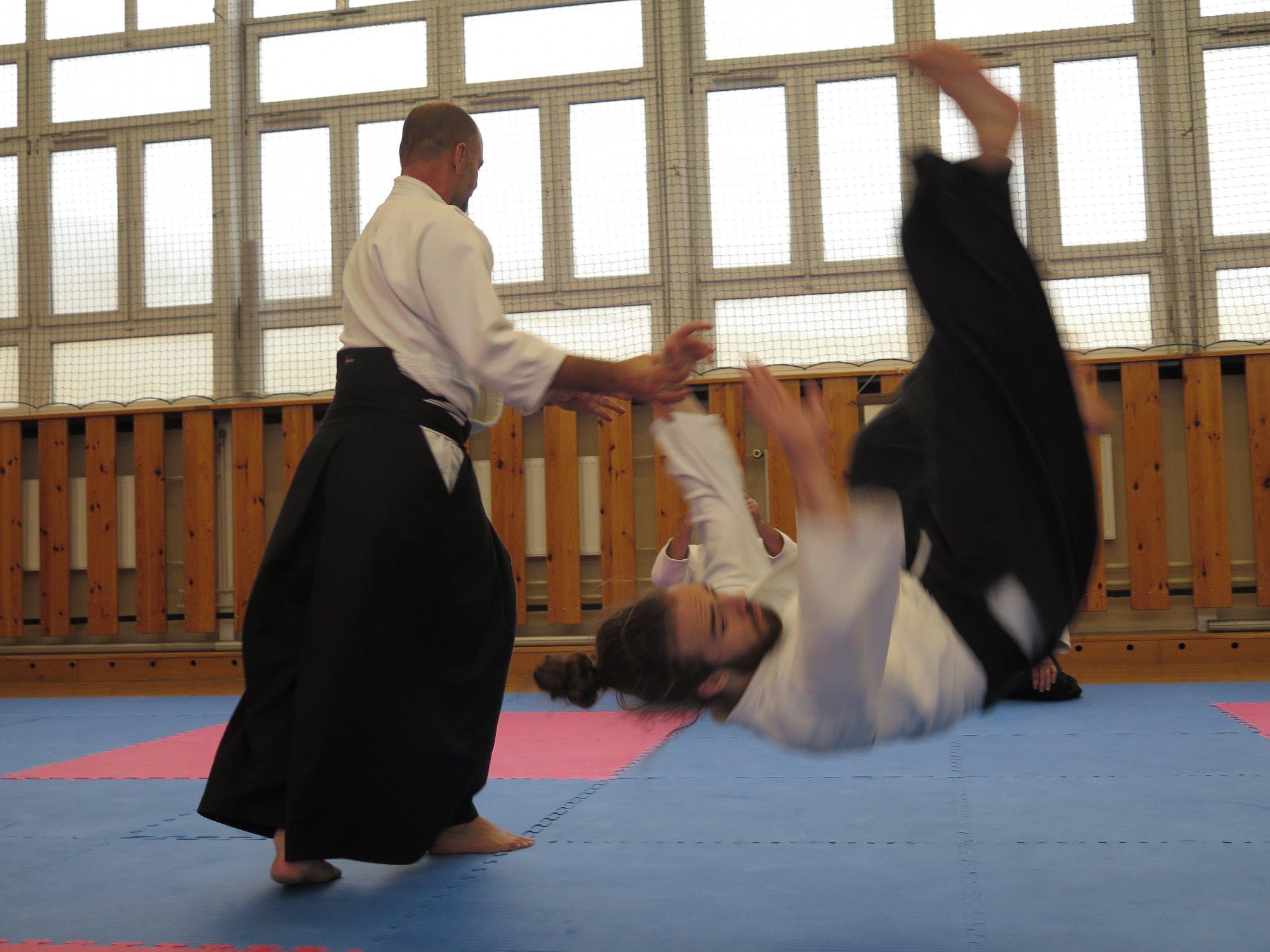 Staż z Antonio Albanese Shihan Super Aikido Lublin Dojo Nałkowskich (3)