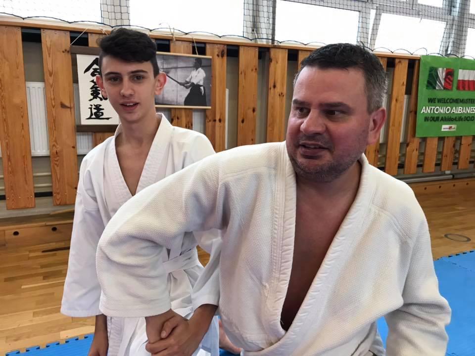 Staż z Antonio Albanese Shihan Super Aikido Lublin Dojo Nałkowskich (30)