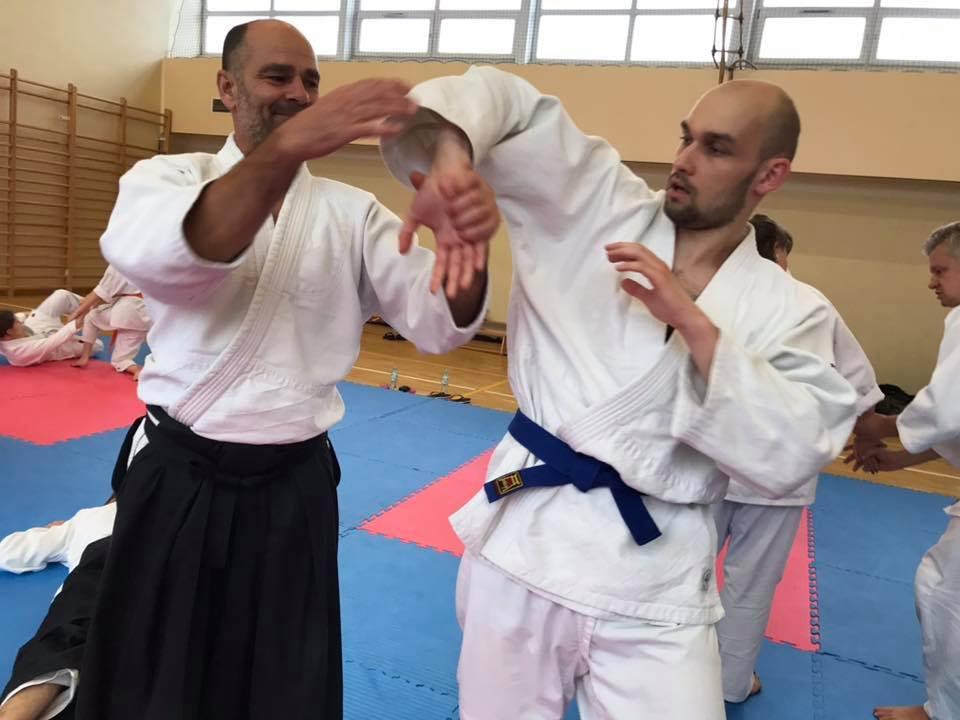 Staż z Antonio Albanese Shihan Super Aikido Lublin Dojo Nałkowskich (32)