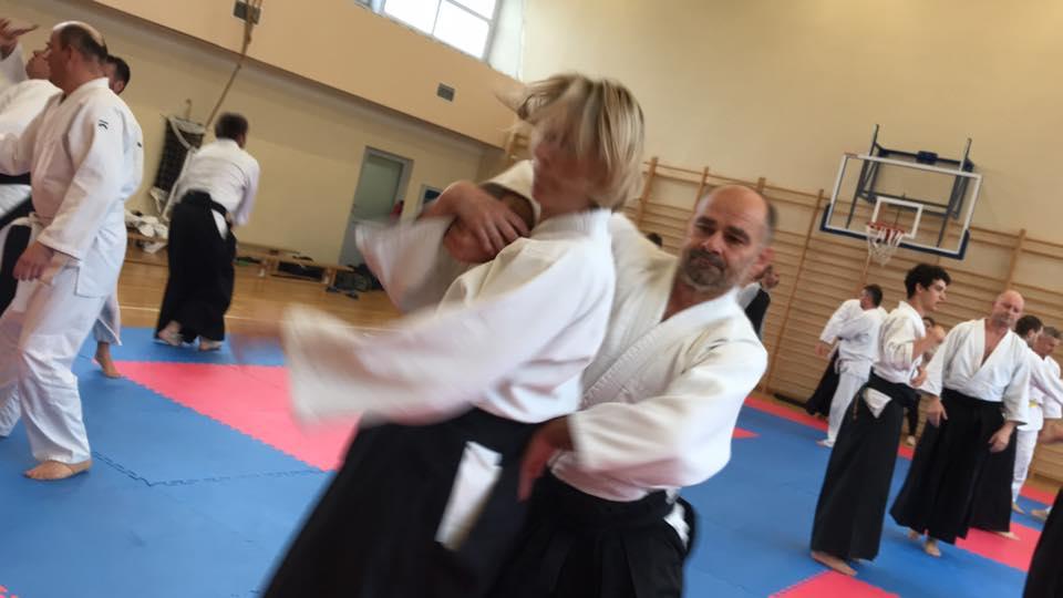 Staż z Antonio Albanese Shihan Super Aikido Lublin Dojo Nałkowskich (6)
