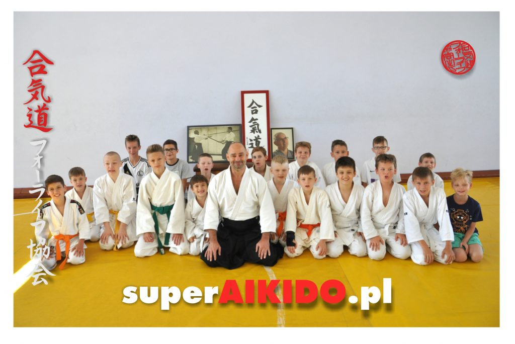 Super Aikido Lublin trening dla dzieci