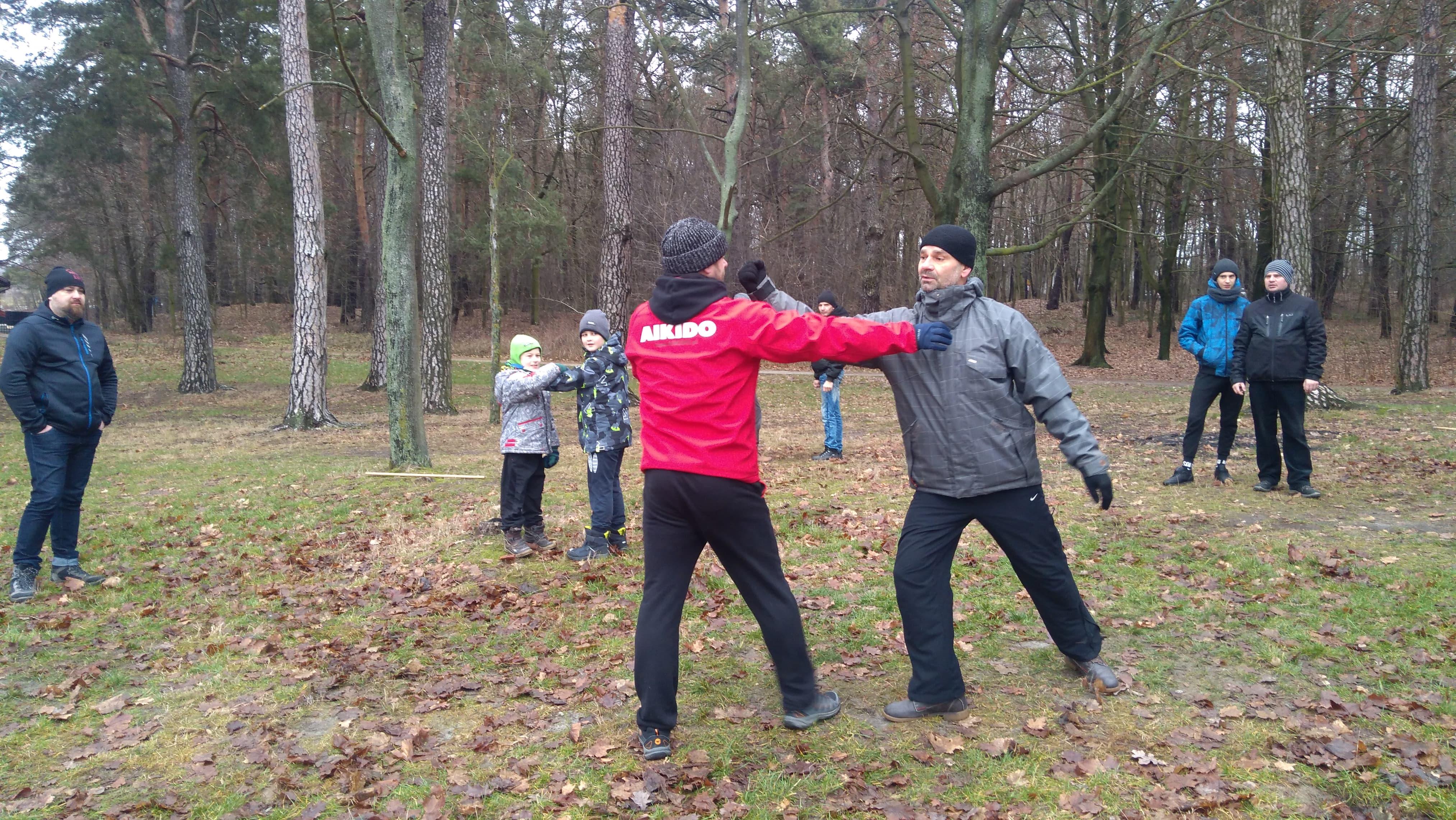 Trening Aikido Lublin Zalew Zemborzycki