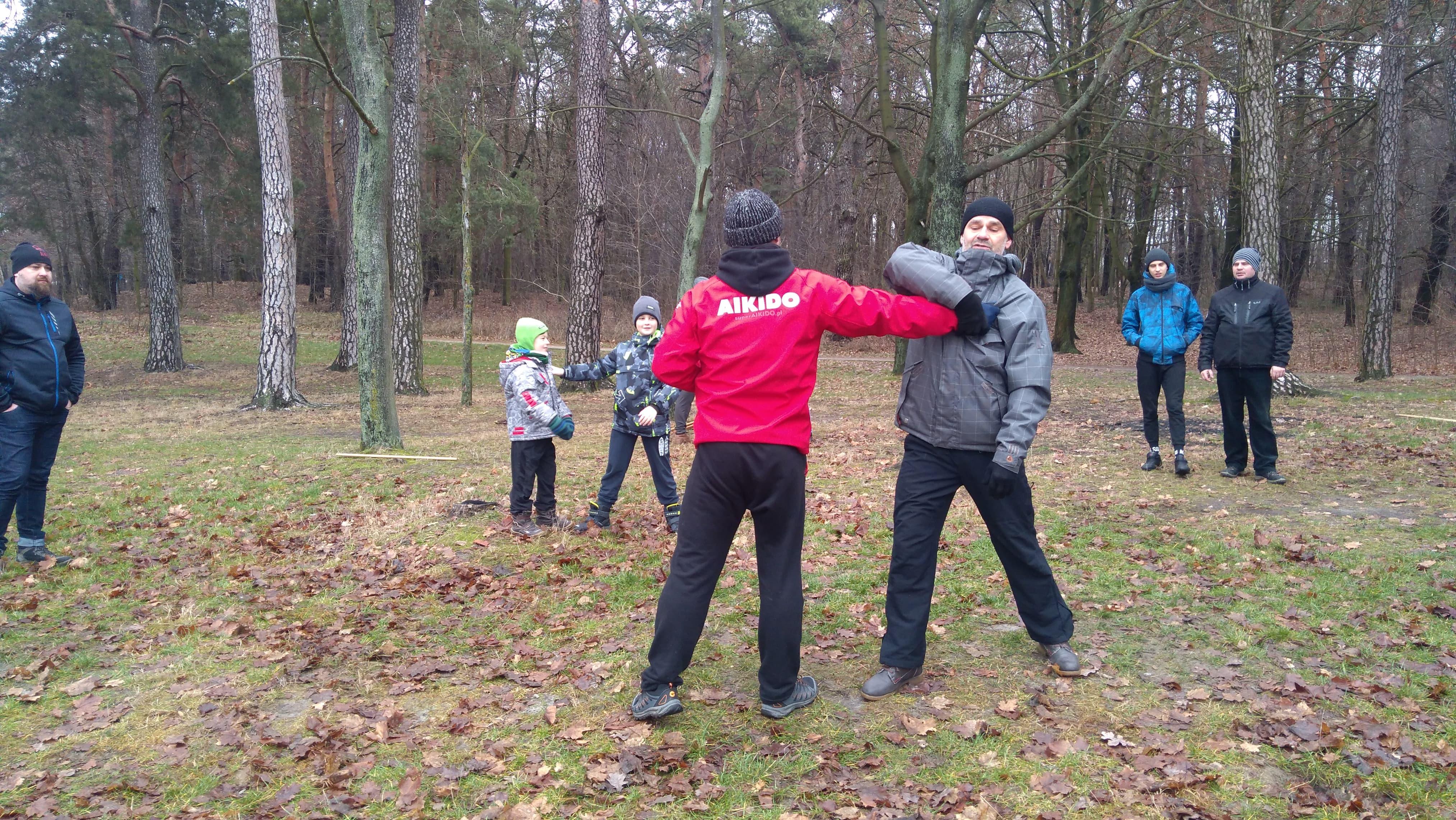 Trening Aikido Lublin Zalew Zemborzycki2