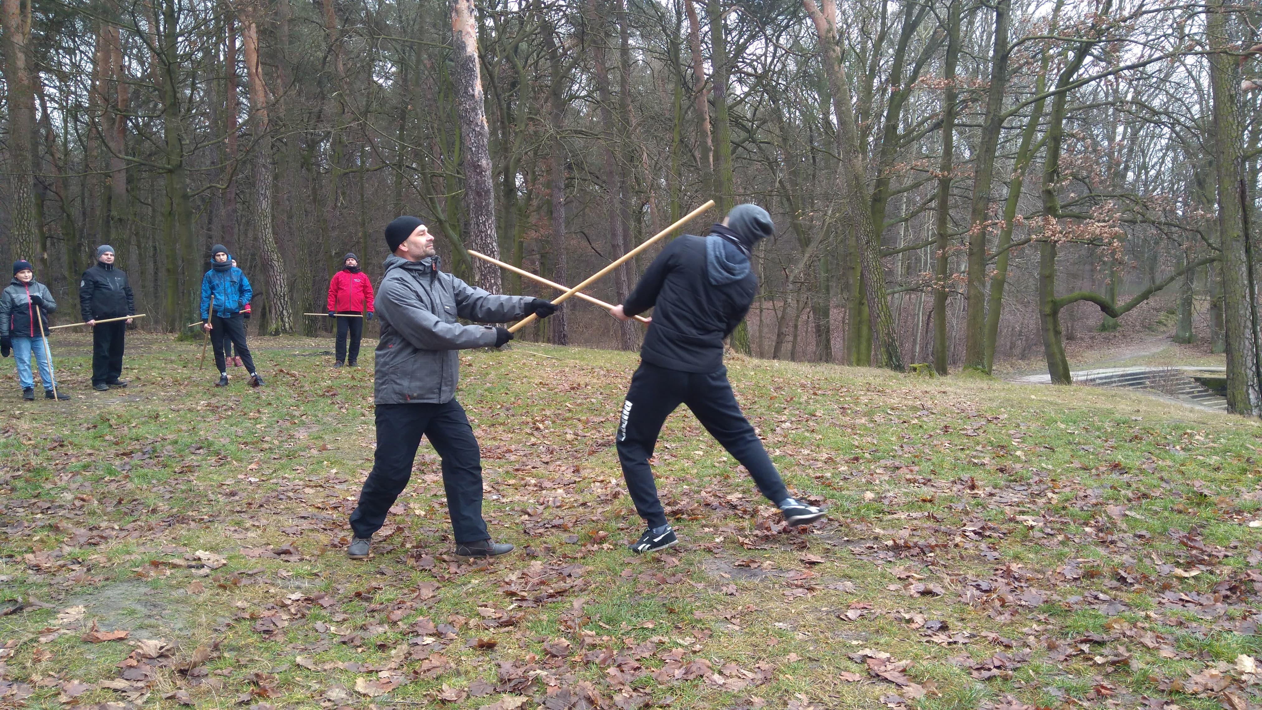 Trening Aikido Lublin Zalew Zemborzycki3
