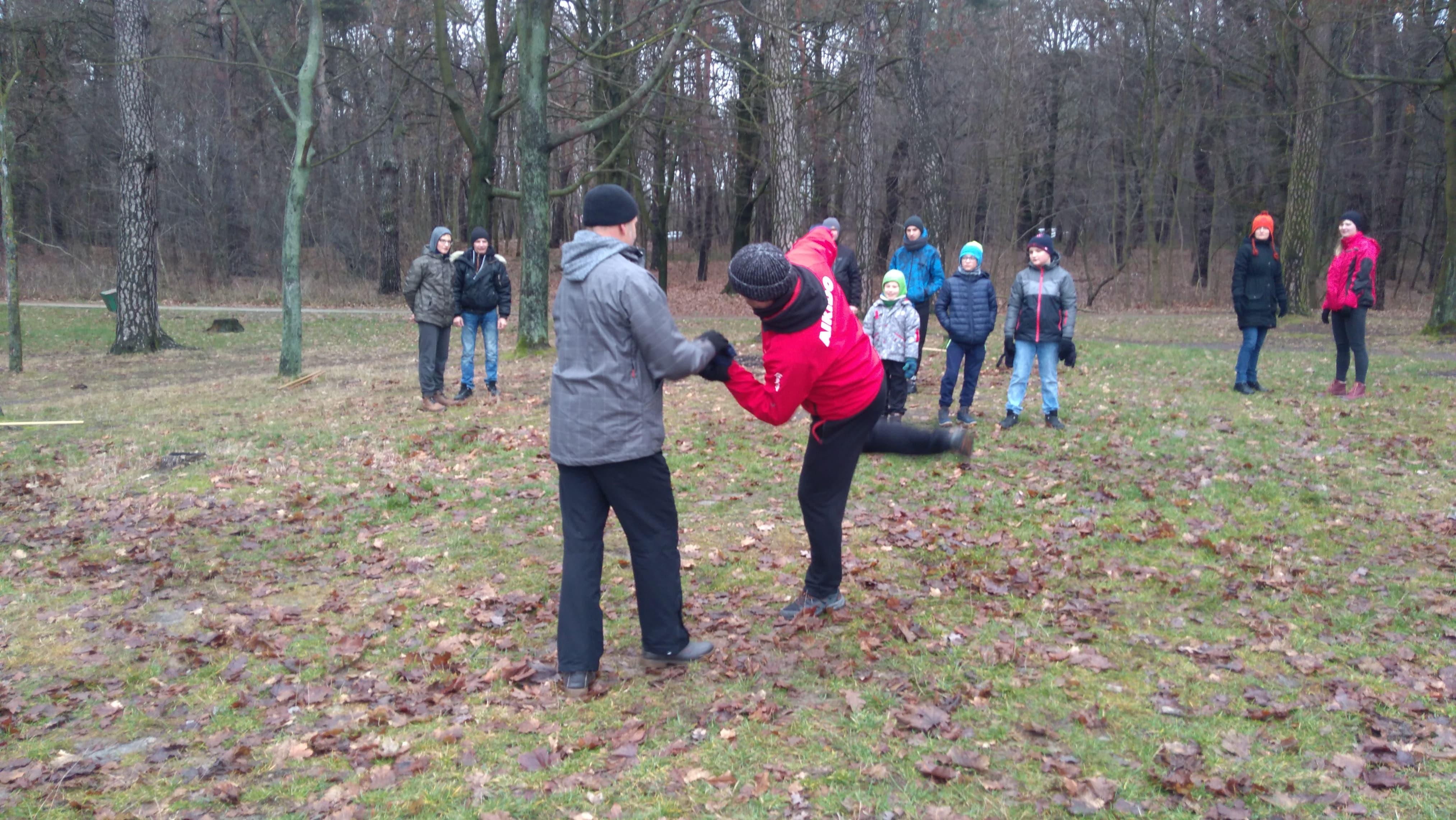 Trening Aikido Lublin Zalew Zemborzycki4