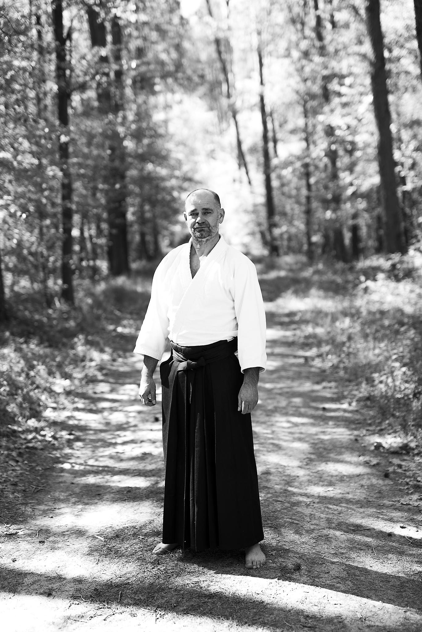 Treningi w Akademii Super Aikido w Lublinie prowadzi Mirosław Przybylski Sensei.
