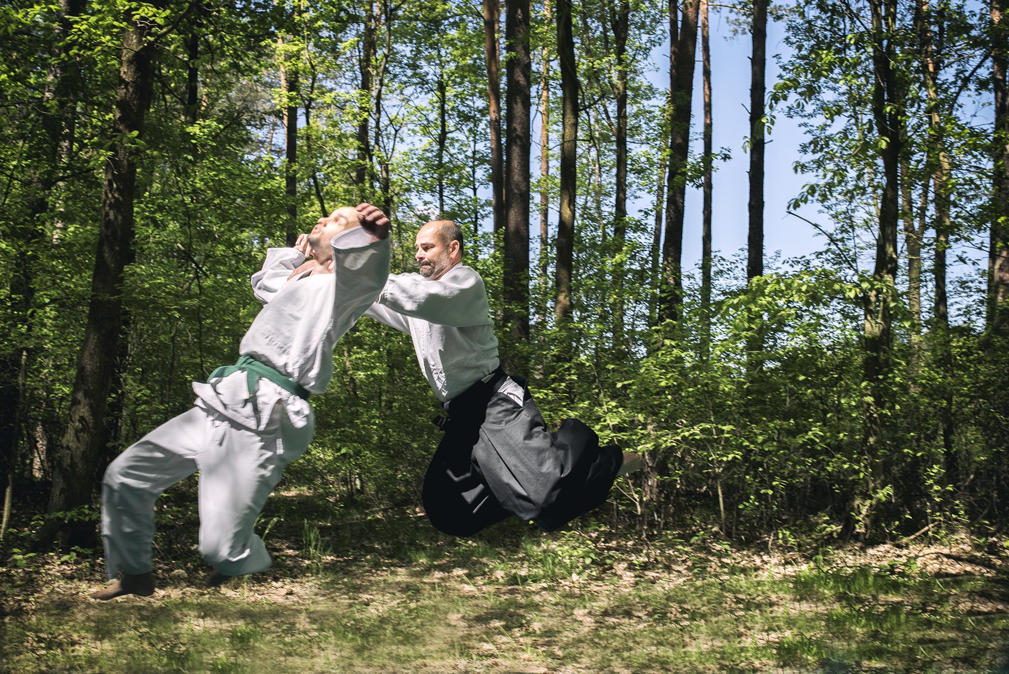 Trening Super Aikido Lublin Kozłowiecki Park Krajobrazowy (26)