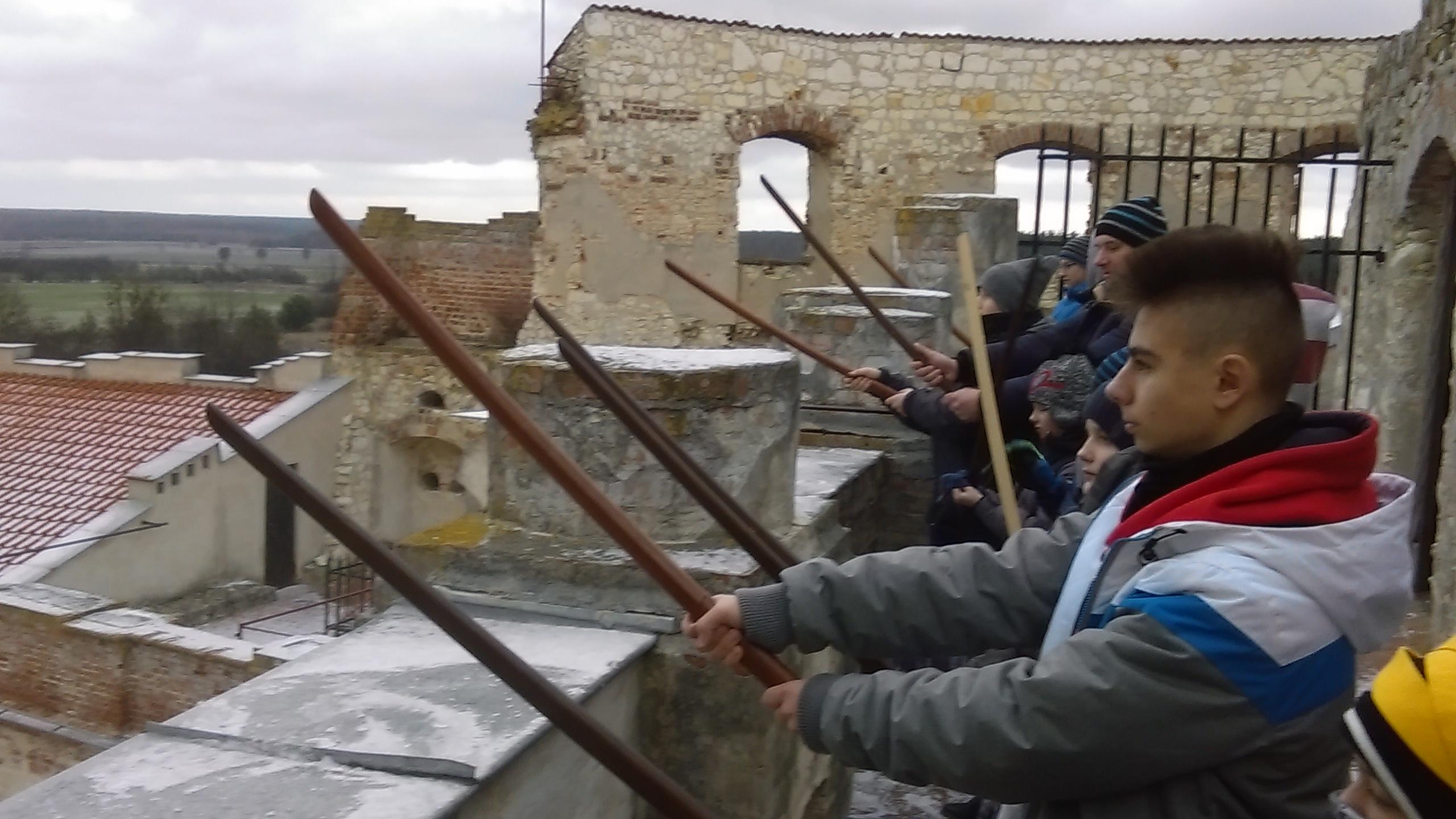Trening Super Aikido na zamku w Janowcu