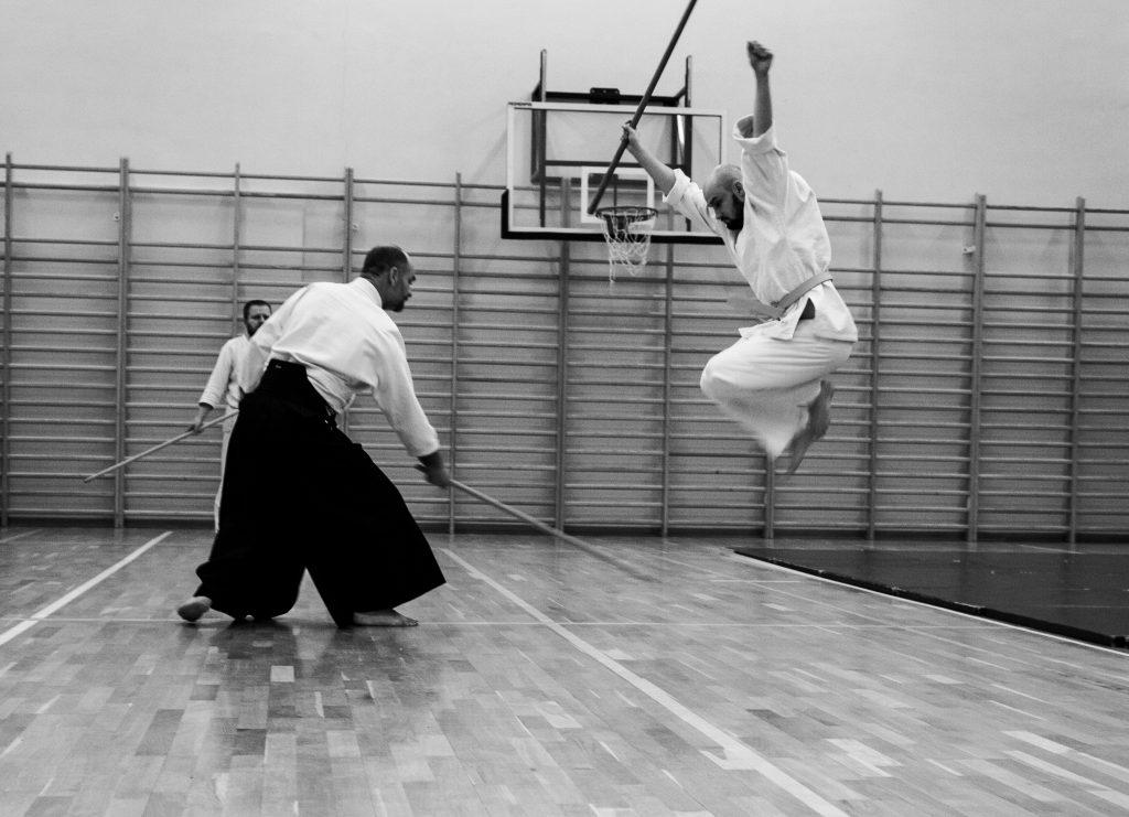 aikido Lublin Dojo Nałkowskich trening Jo