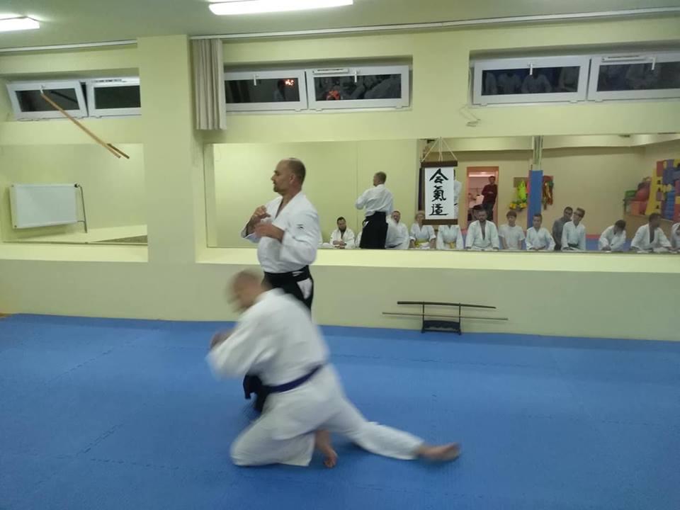 pierwszy trening aikido nowe Dojo Radpsci w Lublinie