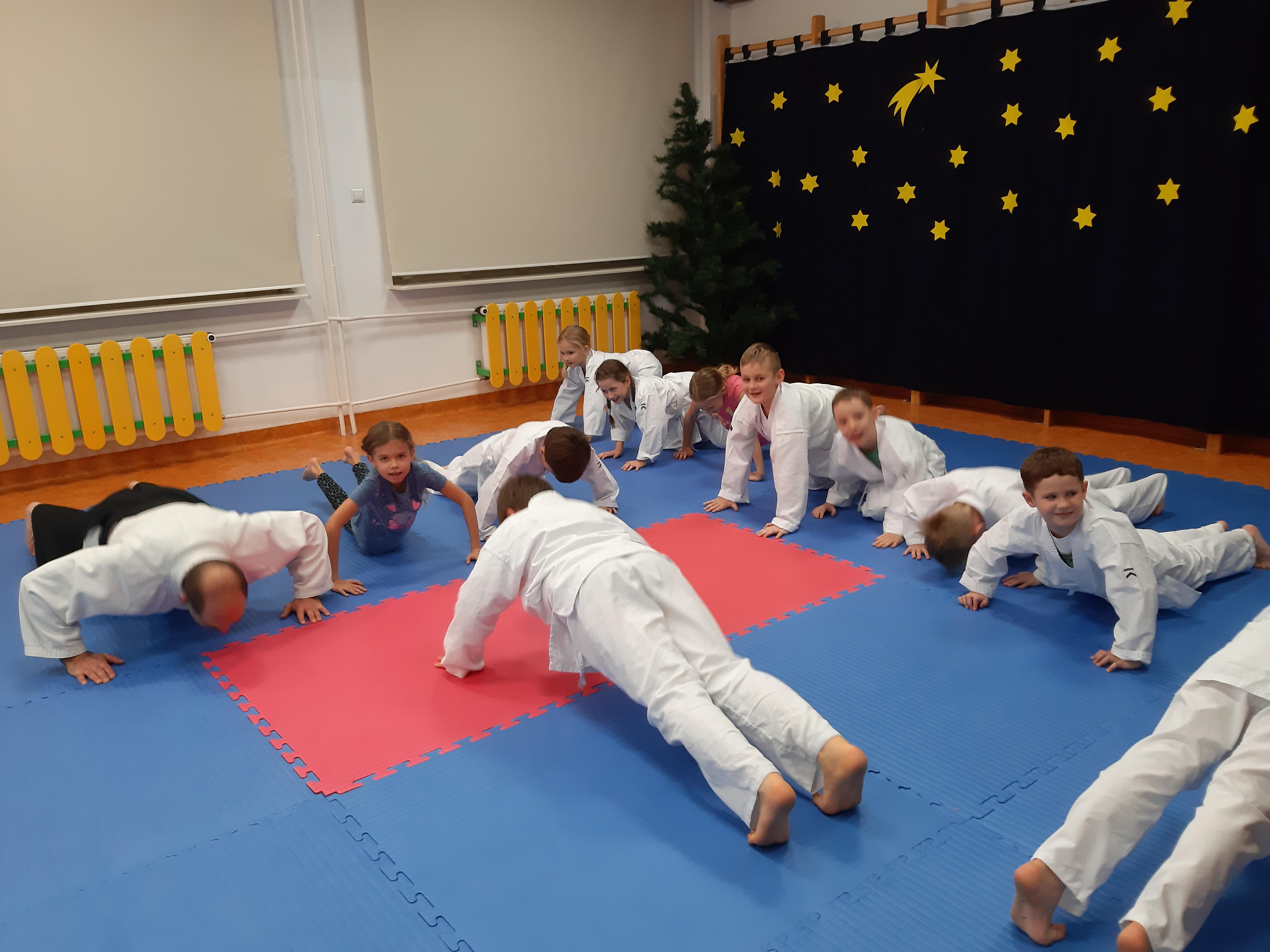 trenig aikido z dziećmi w Lublinie