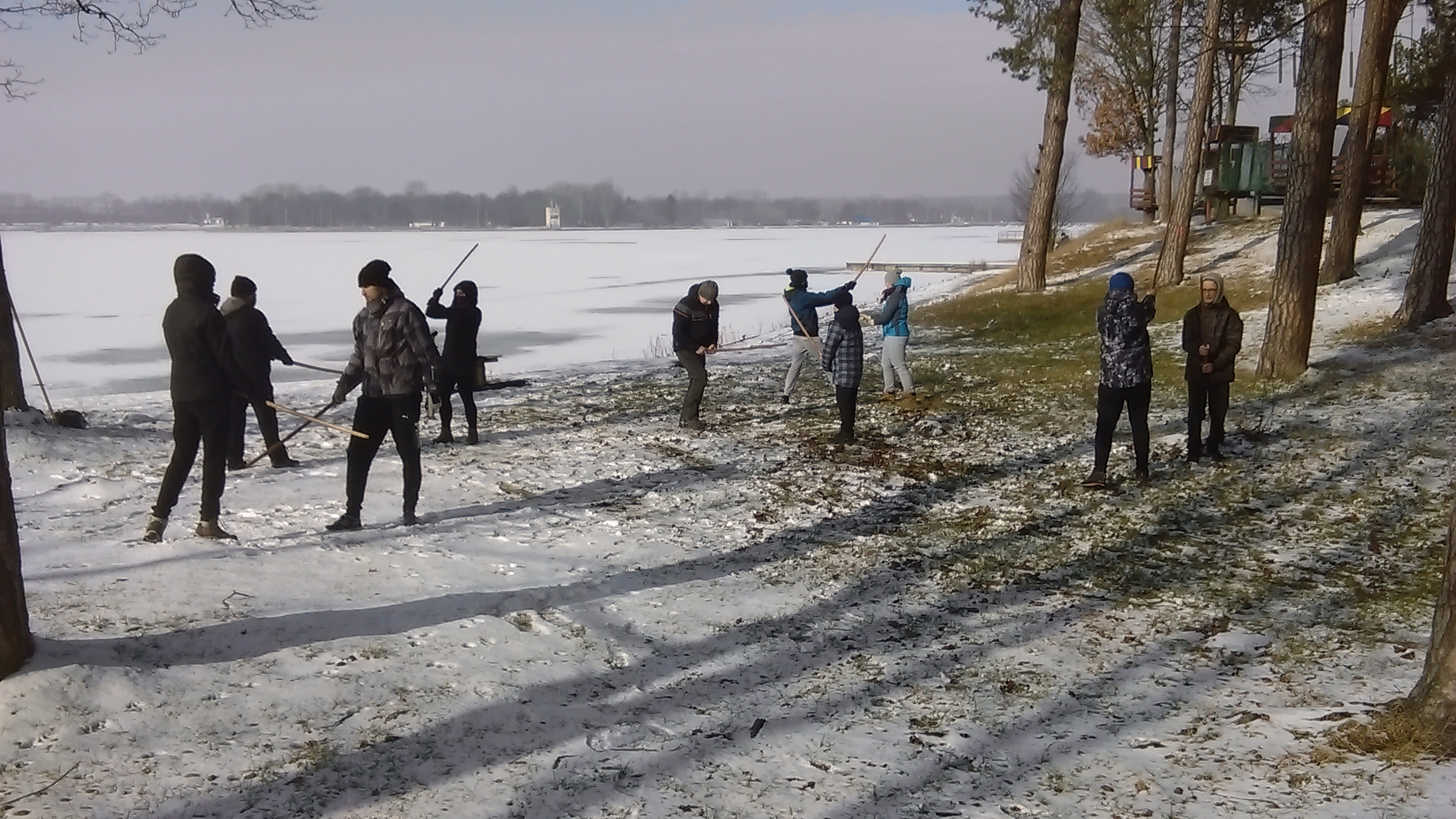 trenin zimowy aikido Lublin