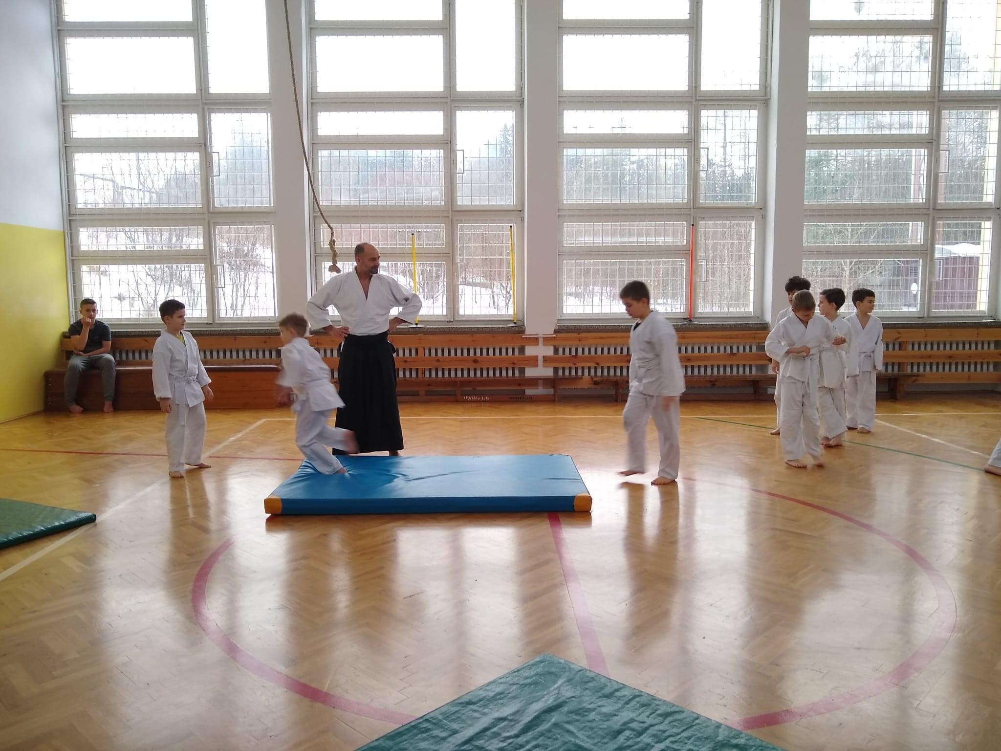 Dzieci z Akademii Super Aikido na Zimowej Etiudzie Aikido Janowic 2019 (3)
