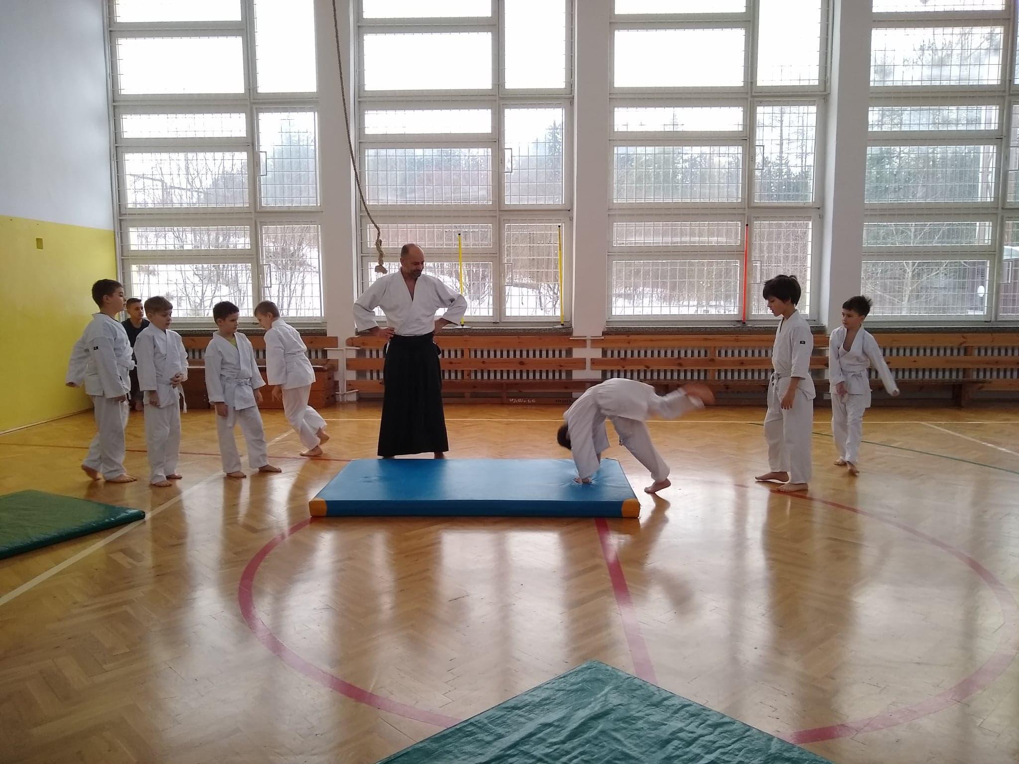 Dzieci z Akademii Super Aikido na Zimowej Etiudzie Aikido Janowic 2019 (4)