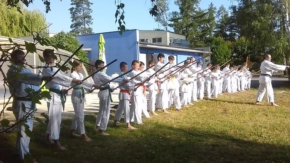 Obóz Super Aikido w Okunince nad Jeziorem Białym 2019 (13)