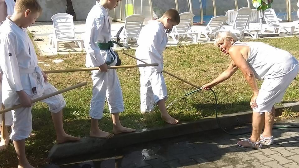 Obóz Super Aikido w Okunince nad Jeziorem Białym 2019 (19)