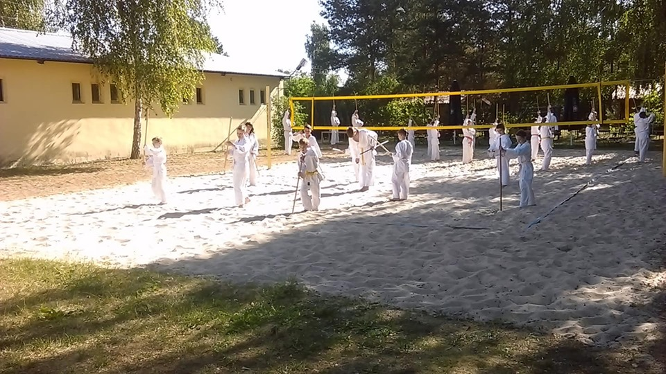 Obóz Super Aikido w Okunince nad Jeziorem Białym 2019 (20)