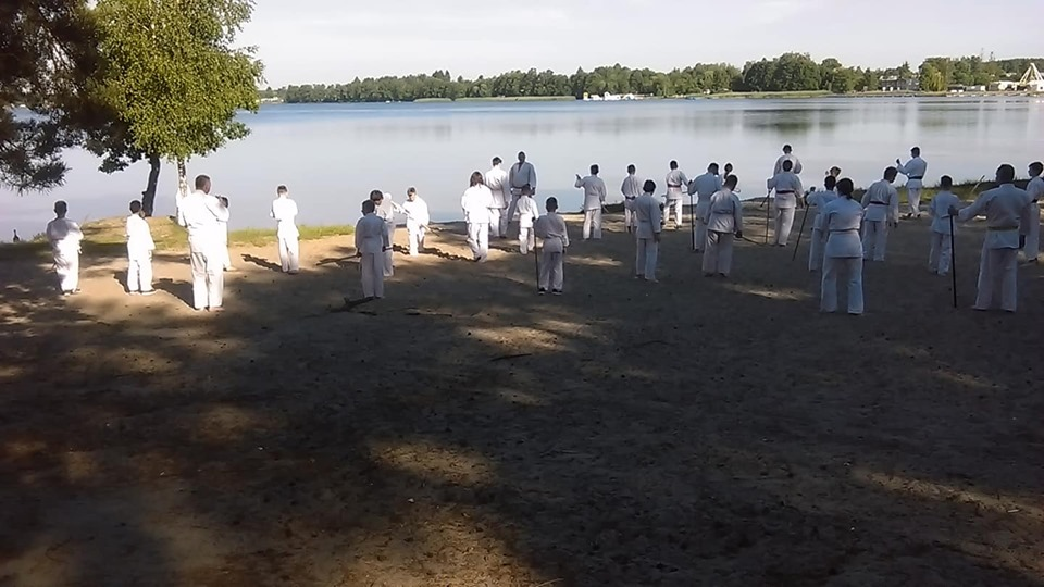 Obóz Super Aikido w Okunince nad Jeziorem Białym 2019 (3)