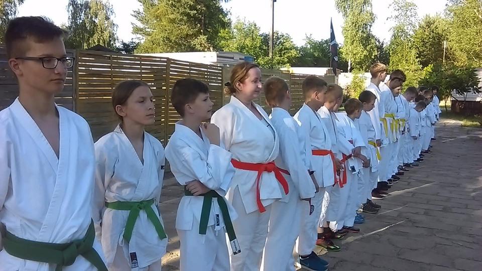 Obóz Super Aikido w Okunince nad Jeziorem Białym 2019 (6)