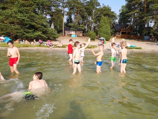 trening w Jeziorze Białym obóz aikido Okuninka (2)